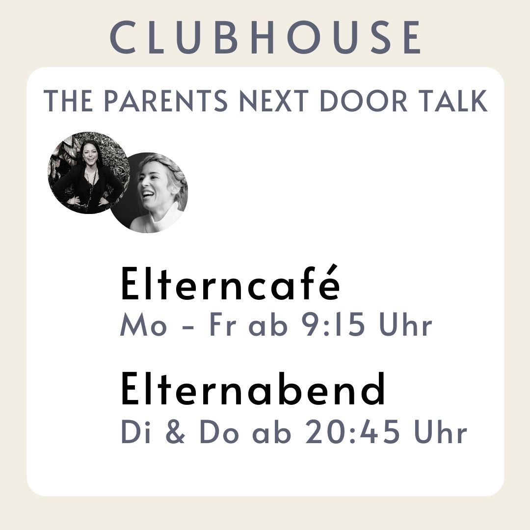 Clubhouse The Parents Next Coor Eltern Club Mamablog App